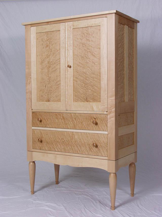 Birdseye Maple Armour Furniture, Birds Eye Maple Furniture
